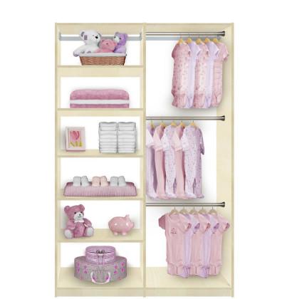 Isa Custom Kids Closet Triple Hanging Plus