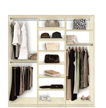 Good Closet System Shelves And Hanging