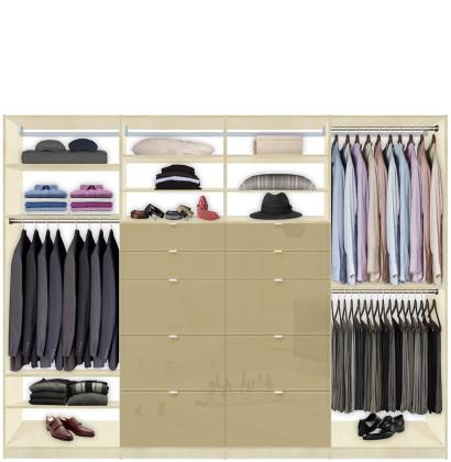 Closet System 10 Drawers