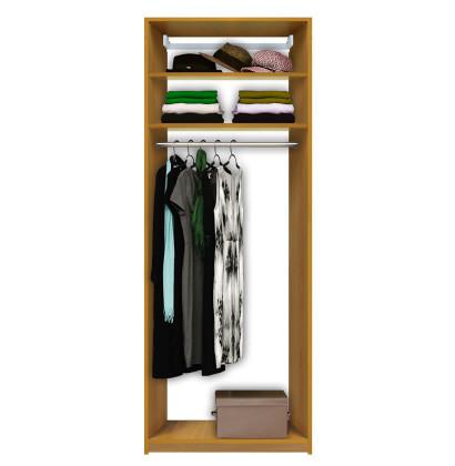 Lovely Isa Custom Closet   Tall Hanging Closet, 2 Shelves At Top