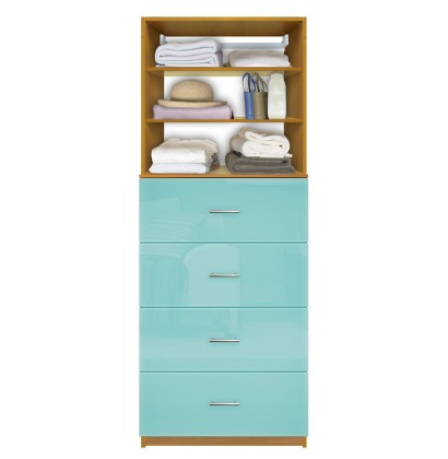 Closet drawer system