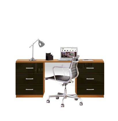Lafayette Computer Desk - Contemporary 6 Foot Desk