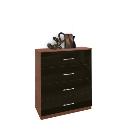 Modern 4 Drawer Dresser - Chest of Drawers