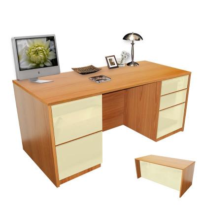 Alexis Full Pedestal Executive Desk