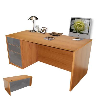 Alexis Executive Desk Full Left Pedestal