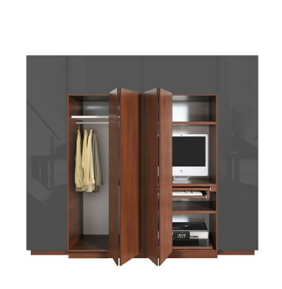 Hawthorne Wardrobe Closet Desk - Instant Home Office ...