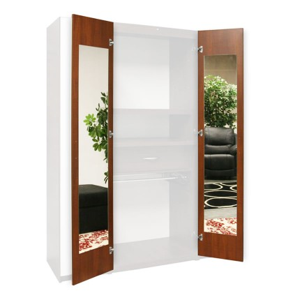 Wardrobe Closet Mirrored Interior Door Mirrors 165