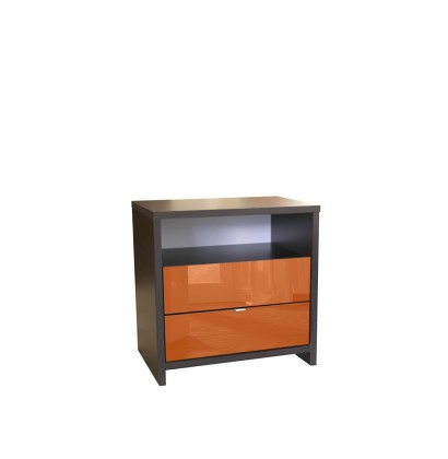 Futurista Nightstand 2 Drawer