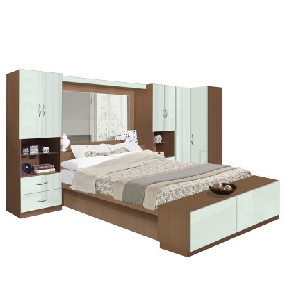 Studio Pier Wall Bed Plus Corner Closet