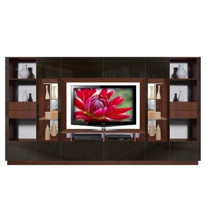 Victor Entertainment Wall Unit - Sometimes Bigger is Better ...
