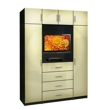 Aventa Bedroom TV Armoire X-Tall | Contempo Space