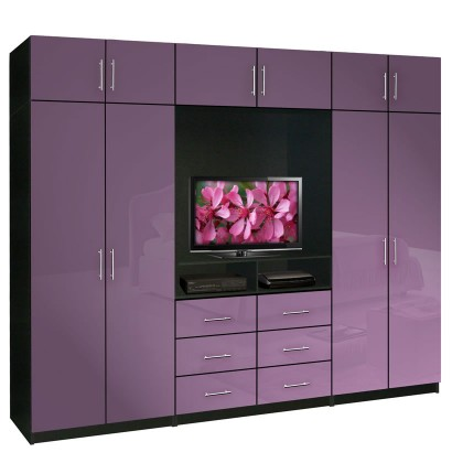bedroom wall unit furniture. Aventa TV Wardrobe Wall Unit X-Tall - Bedroom Furniture Plus Storage