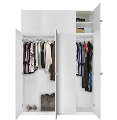 Alta Free Standing Closet - 8 Door Taller Package ...