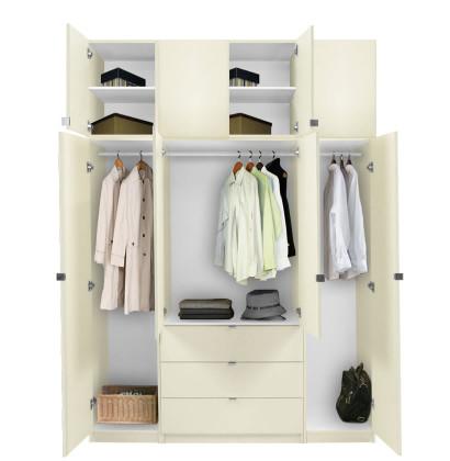Alta Taller Armoire Plus Closet Package