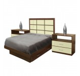 Cambridge Twin Size Bedroom Set w Storage Platform