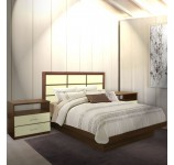 Cambridge King Size Platform Bedroom Set 4 Piece