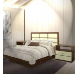 Cambridge King Size Bedroom Set w Storage Platform
