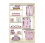 Isa Custom Kids Closet Triple Hanging Plus