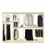 Isa Walk In Closet Systems - Extra Hanging Storage