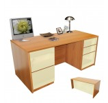 Alexis Full Pedestal Executive Desk