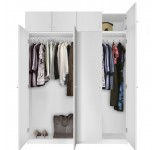 Alta Free Standing Wardrobe Package - Tall