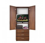 Bella Armoire - Hanging Wardrobe Storage & 3 External Drawers