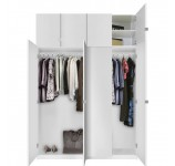 Alta Free Standing Closet - 8 Door Taller Package