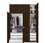 Alta Taller Wardrobe Closets - 6 Drawer Wardrobe Package