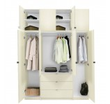 Alta Taller Armoire Plus Closet Package