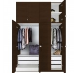 Alta Wardrobe Closet Package - 6 Drawer Wardrobe Extra Tall