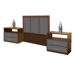 Monte Carlo Twin Size 3 Piece Bedroom Set