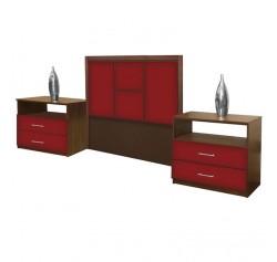 Madison Twin Size 3 Piece Bedroom Set
