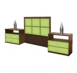 Rico Twin Size 3 Piece Bedroom Set