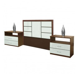 Downtown Full Size 3 Piece Bedroom Set