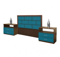 Manhattan Queen Size 3 Piece Bedroom Set