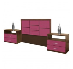 Uptown Queen Size 3 Piece Bedroom Set