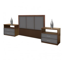 Monte Carlo Queen Size 3 Piece Bedroom Set