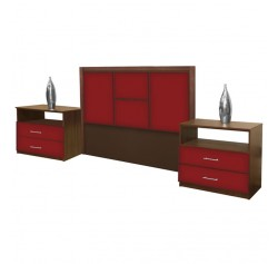 Madison Queen Size 3 Piece Bedroom Set