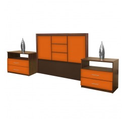 Broadway Queen Size 3 Piece Bedroom Set