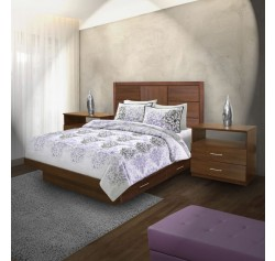 Montclair Queen Size Bedroom Set w Storage Platform