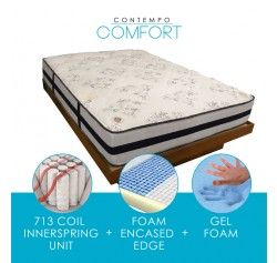 Bergenline Luxury Coil 20 Year Mattress