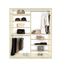 Isa Closet System   High And Low   Easy To Reach Everything