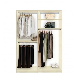 Custom Double Hanging Closet