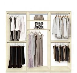 Isa Custom Closets - Extra Hanging Clothes Storage
