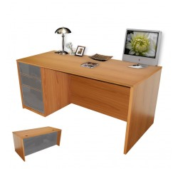Alexis Executive Desk Full Left Pedestal