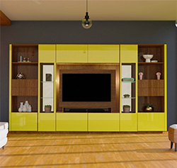 Victor Entertainment Wall Unit - Over 12 Feet