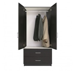 Alta 2 Drawer Wardrobe Armoire