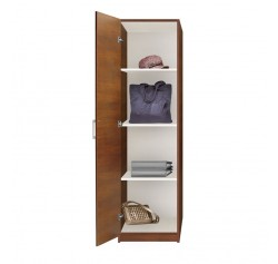 Alta Wardrobe Closet Narrow Left Door 3 Shelves