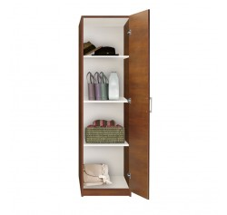 Alta Wardrobe Closet - Narrow Closet, Right Door, 3 Shelves