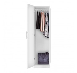 Alta Narrow Wardrobe Closet - Left Opening Door